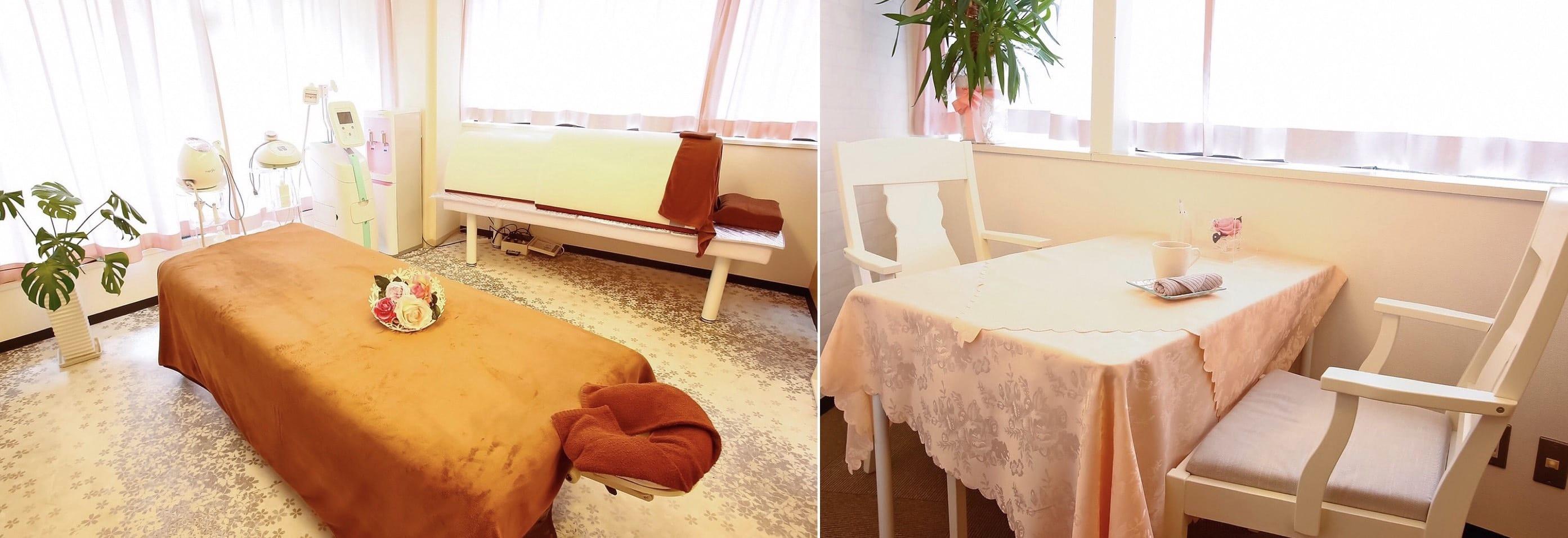 すべての女性の可能性を広げる…       大阪市北梅田中津の結果重視の本格トータルエステ esthetic salon R